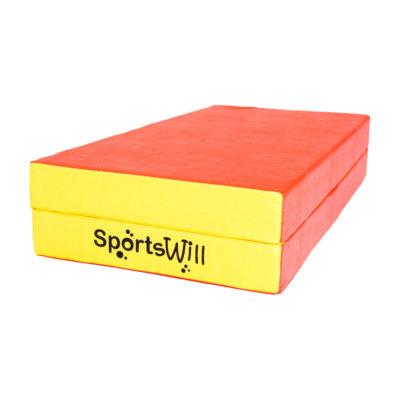 Мат SportsWill (100 х 100 х 10) скл красн