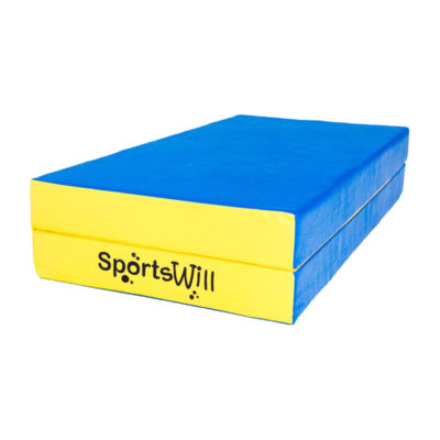 Мат SportsWill (100 х 100 х 10) скл син
