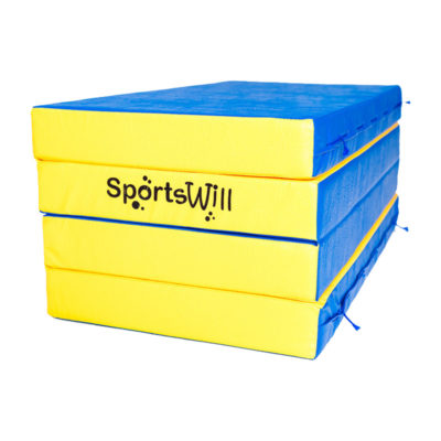 Гимнастический мат SportsWill (200 х 100 х 10) складной